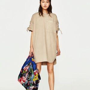 Zara Oversized Cotton Tee Dress
